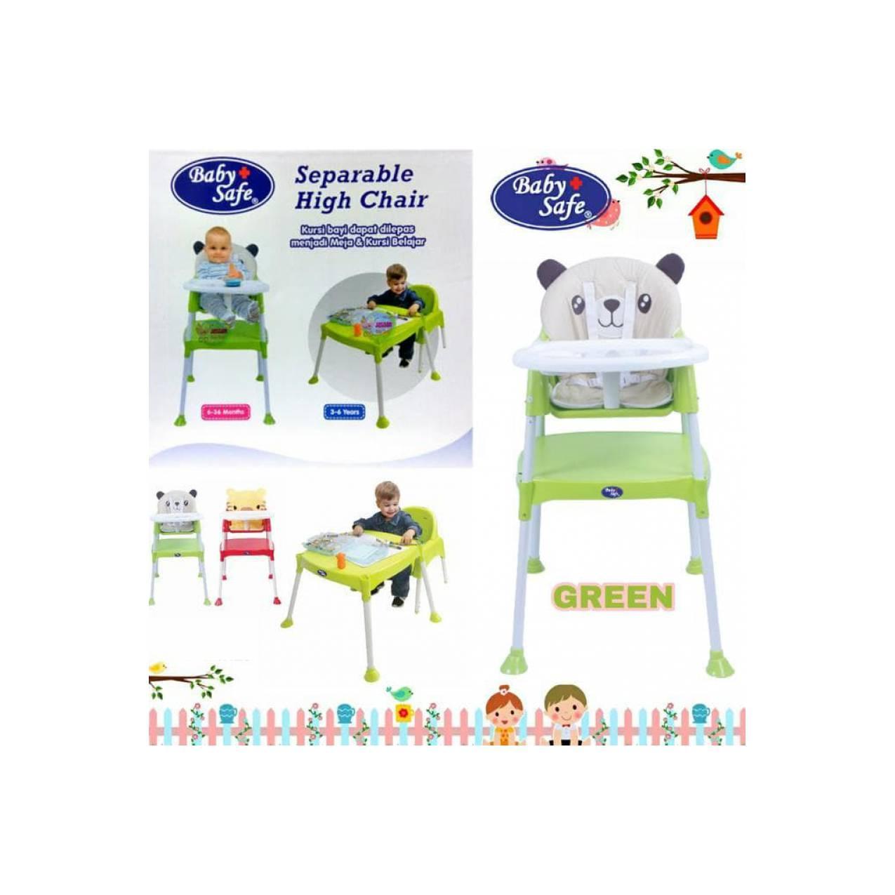 Murah Baby Safe High Chair Hc03/ Kursi Makan Bayi Terbaik Kursi Bayi
