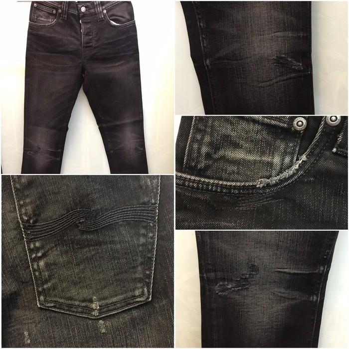 Nudie Jeans Grim Tim Breaking Black - Lnrnfq