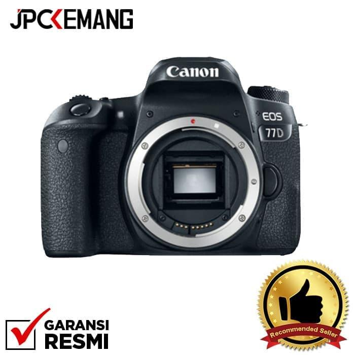 Canon Eos 77d Body Jpckemang Garansi Resmi By Jpc Kemang.