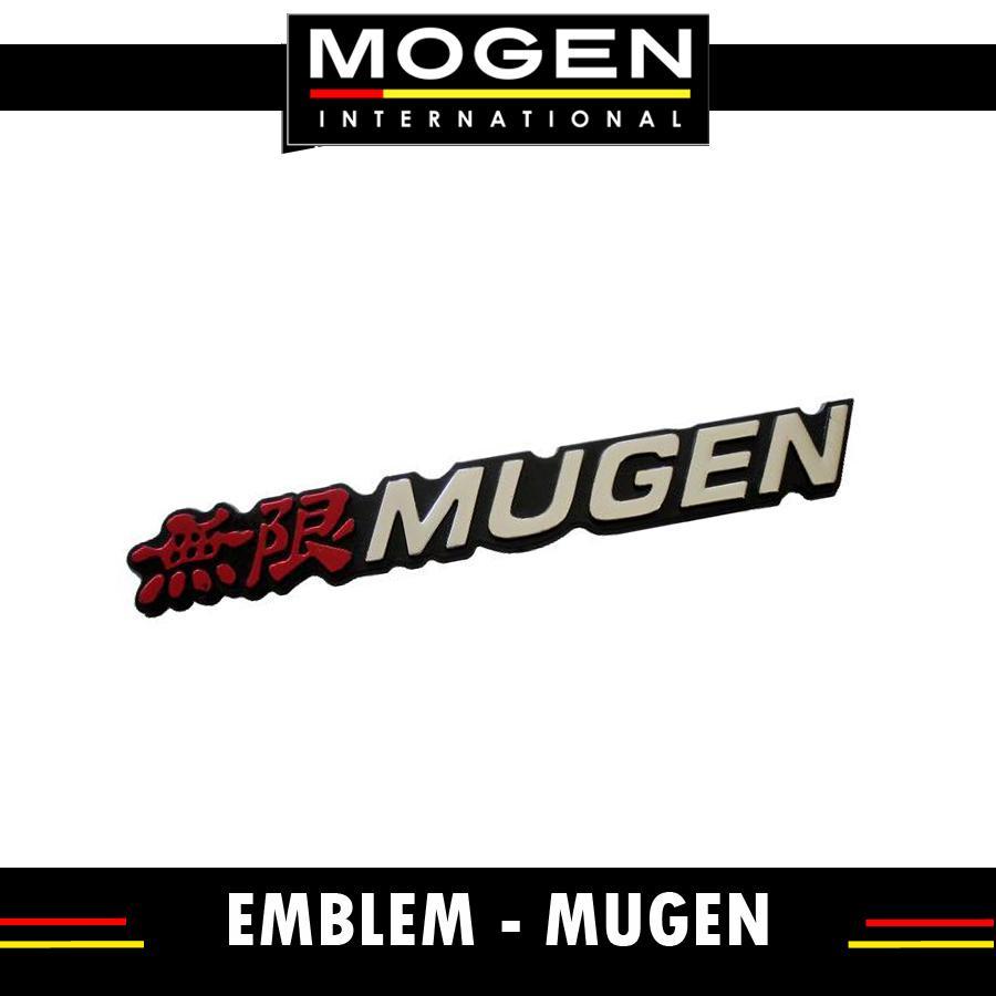 Emblem Mugen Mobil Universal Jazz City CRV Mobilio Civic Brio 3M