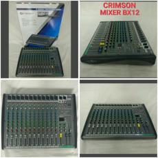 mixer bluetooth crimson 12 channel mixer audio 12 ch