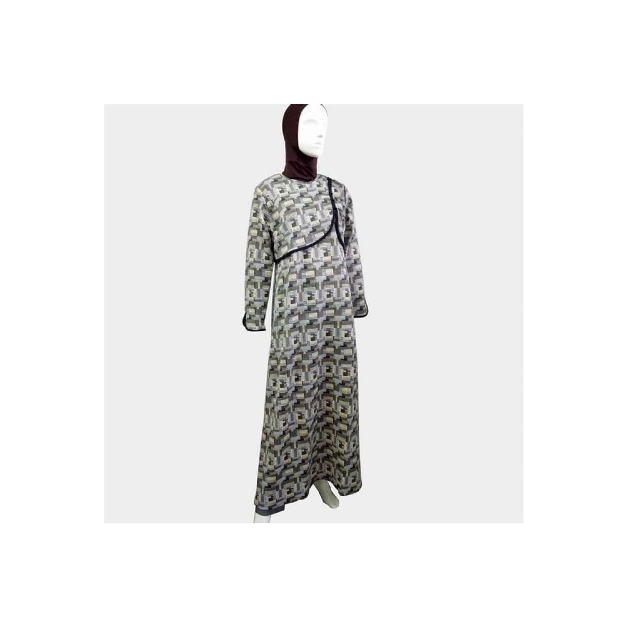 Zoya Gamis Muslimah Dress Motif Cantik - Fadiya Dress
