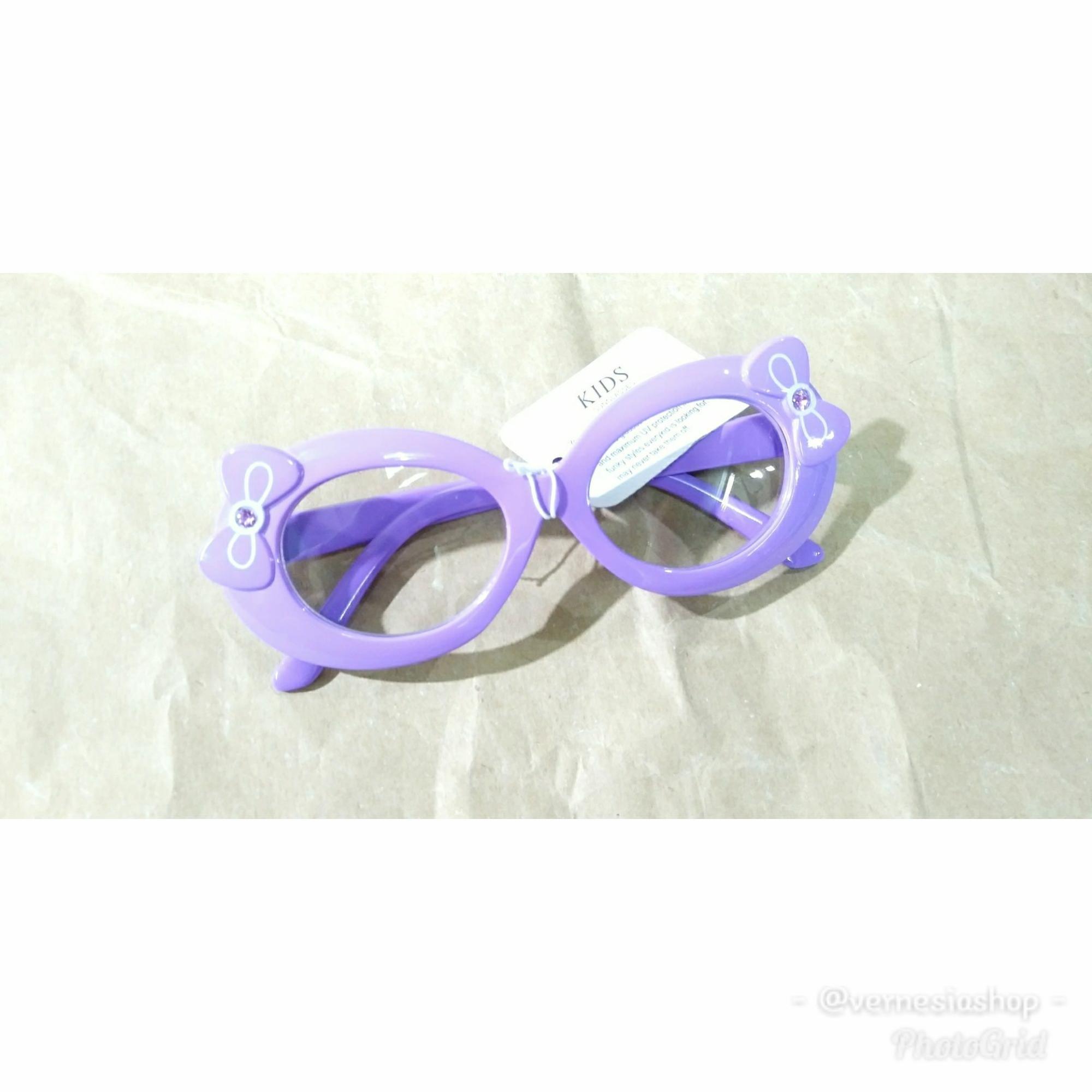 Model Warna Bingkai Kacamata Hitam Wanita Gaya Kelas Tinggi Anti ... 62b0d430a9