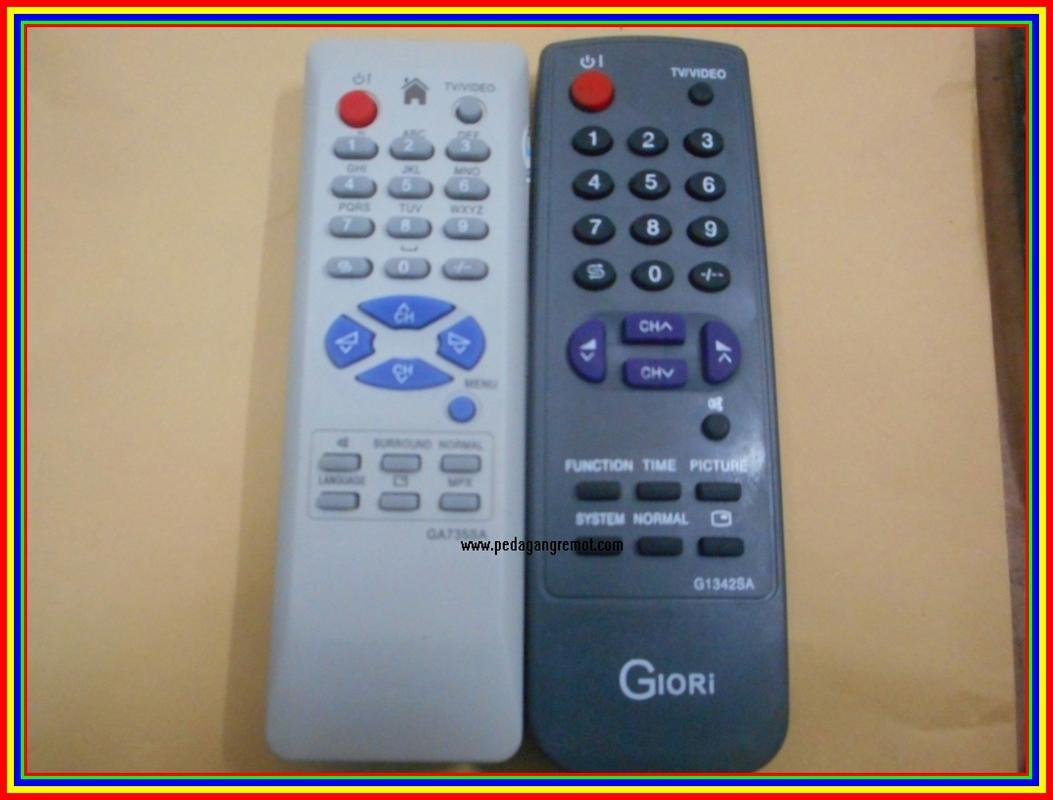 Remot Remote Tv Tabung Sharp
