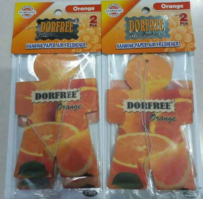 Parfum Pengharum Mobil DORFREE Orange isi 2pcs