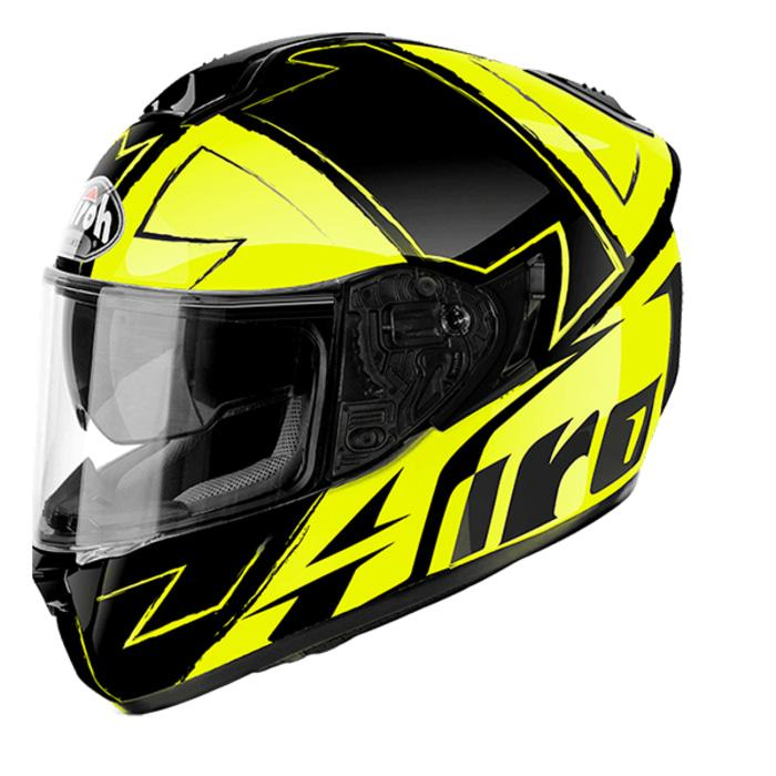 Helm Airoh ST701 Way Yellow Gloss