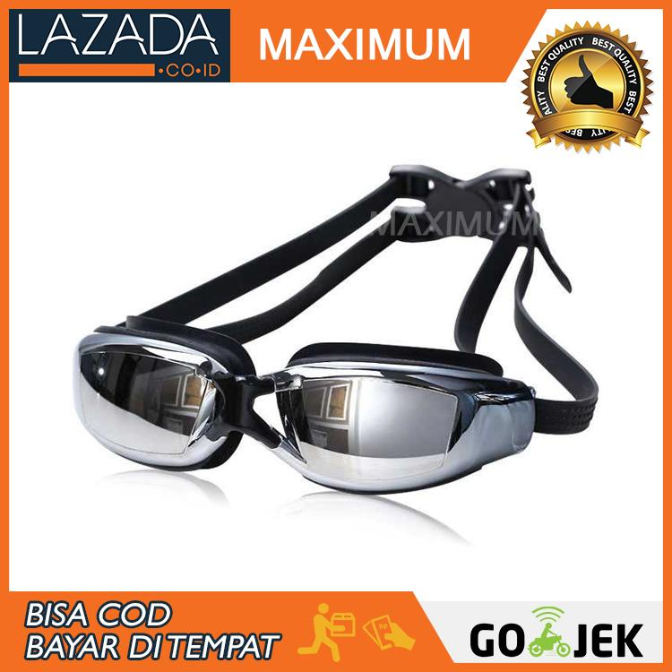 Kacamata Renang Minus 2.5 - Anti Fog UV Protection G7800M