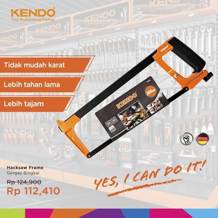 KENDO Hacksaw Frame Gergaji Besi KD-30566 By Bionic Hardware