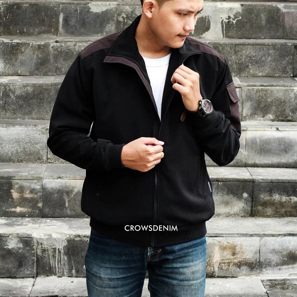 Jual Jas Premium Murah Garansi Dan Berkualitas Id Store Crowsdenim Blazer Black Pria Sk85 Rp 396000