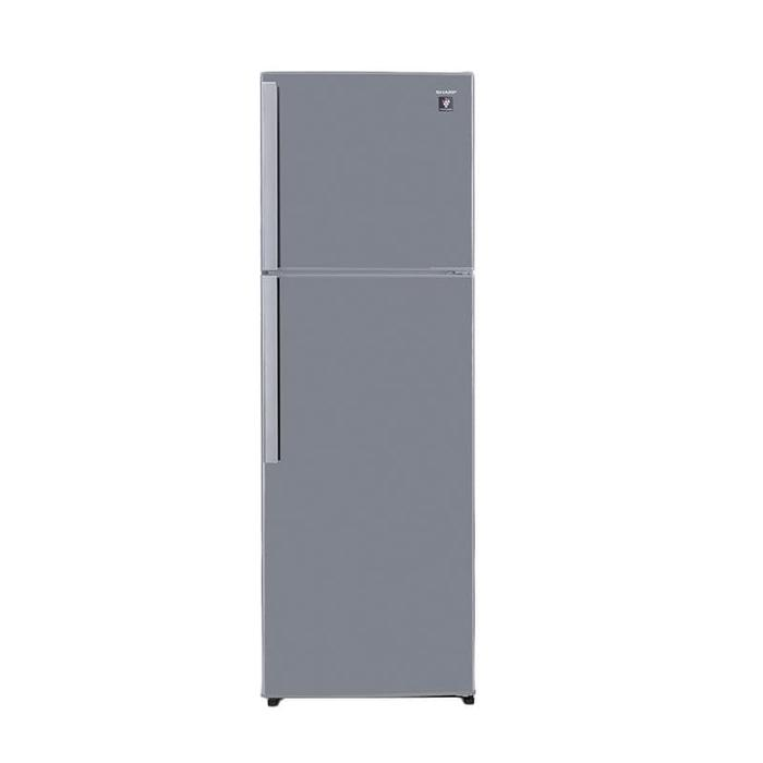 SHARP SJ-450GP-SD Kulkas - Grey [2 Pintu/352 L] 100Watt