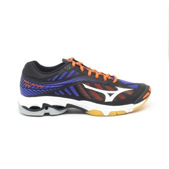 Pencarian Termurah Sepatu Voli Mizuno Wave Lightning Z4 Black Blue  V1GA180024 Original harga penawaran - Hanya 08812d88ad