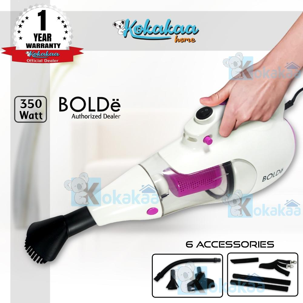 Bolde Super Hoover CYCLONE Vacuum Cleaner with Elastic Hose & Blower Bundle Vacum Cleaner - Putih-Ungu