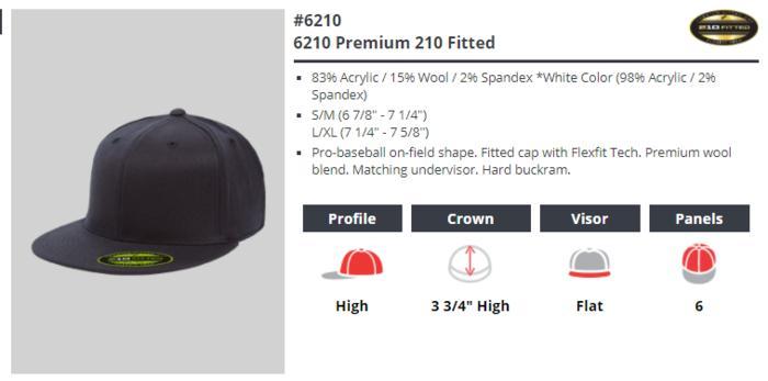 Best Top Seller!! 6210 Flexfit Premium 210 Fitted Snapback Topi Original Murah Meriah - ready stock