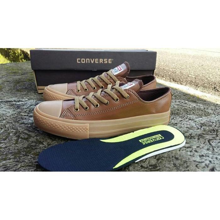 Sepatu Sneakers Pria Kulit / Sepatu Sekolah Converse / Sepatu Pria - Hbpna1