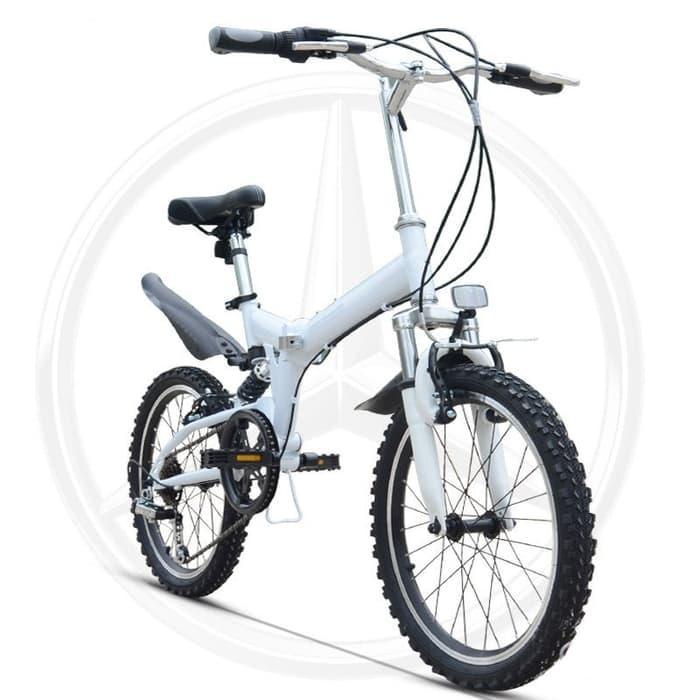 SEPEDA NORWICH 20inch 6speed City Sports Folding Bike D