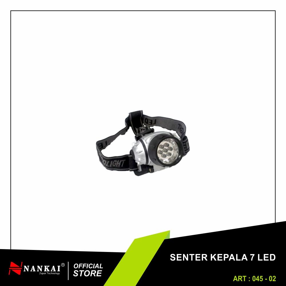 Lampu Senter Kepala Hiking Headlamp Lazada Cree Xml T6 3 Mata Nankai Head Lamp 7 Led Perkakas Tool