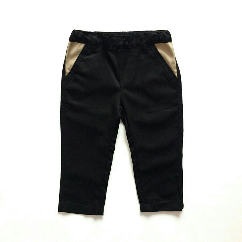 Buy Sell Cheapest Celana Chino Anak Best Quality Product Deals Panjang Htam Pocketpants Hitam