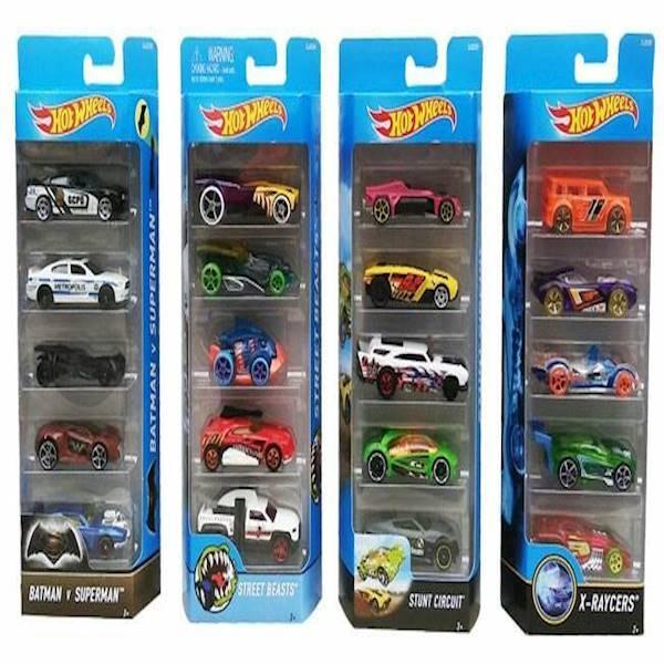 Hot Wheels Pack Isi 5Pcs