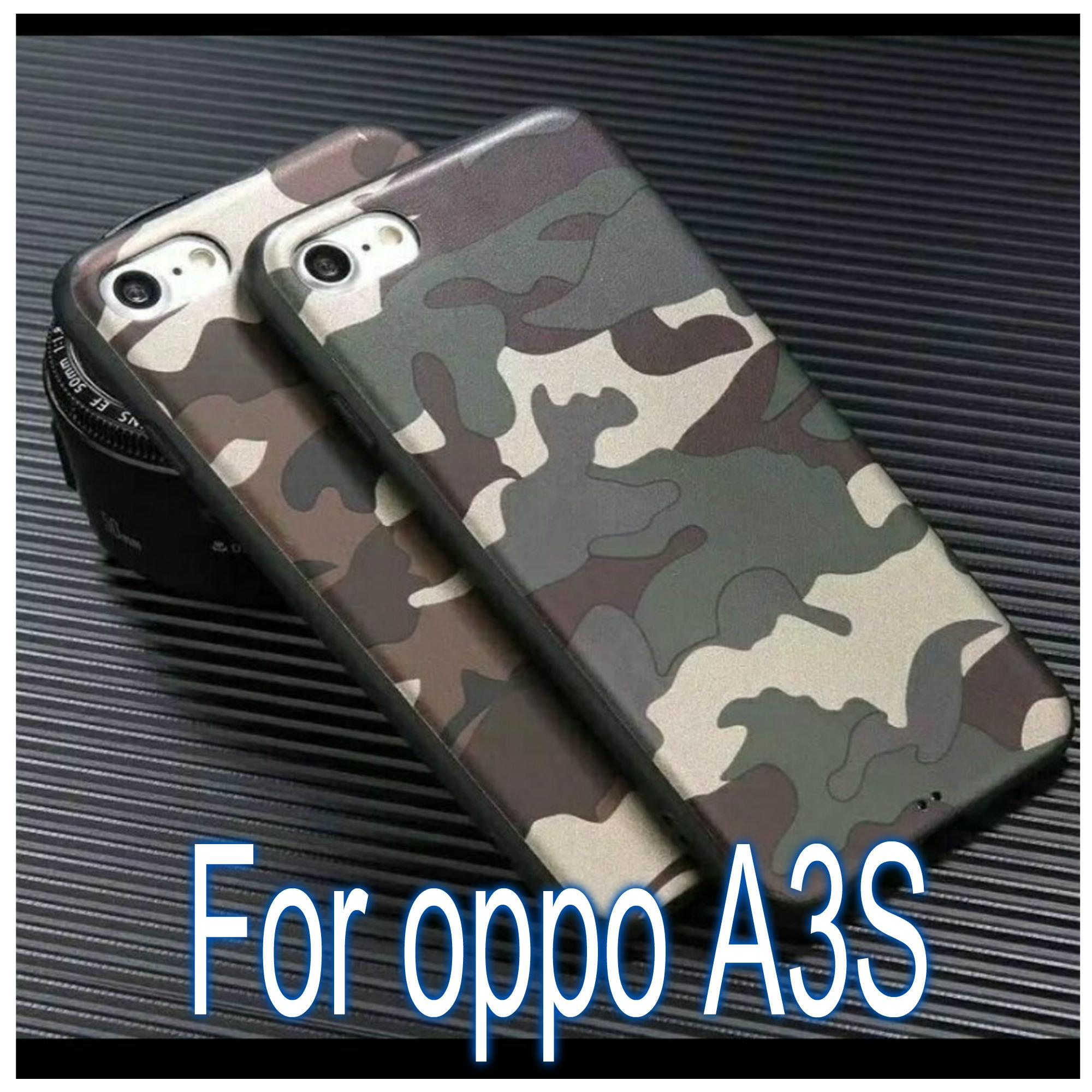 Softcase case Army Loreng for OPPO A3S