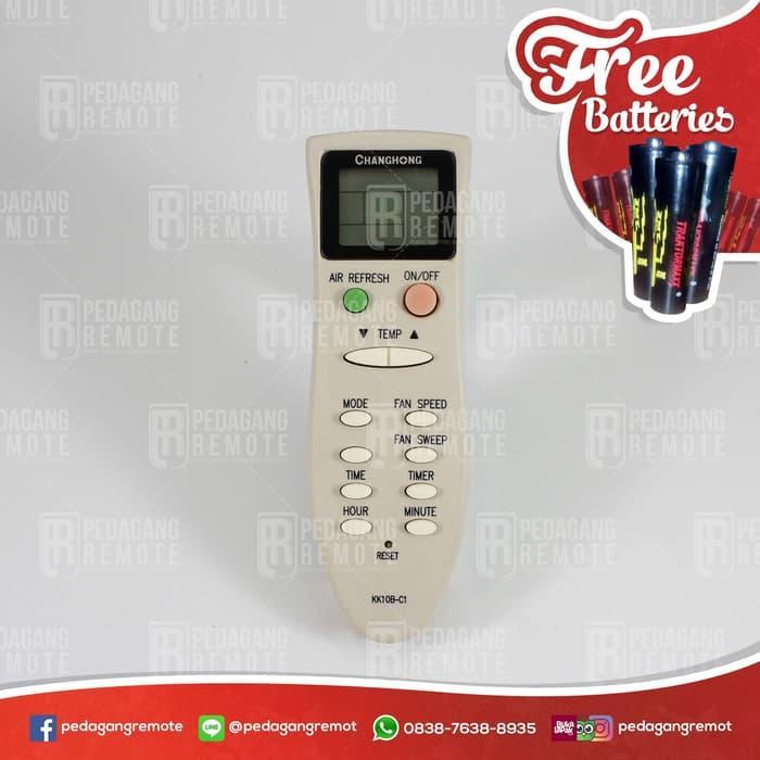 Sedang Diskon!! Remot/Remote Ac Changhong Kk10B-C1 Ori/Original - ready stock