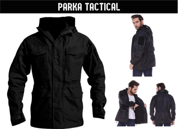 JAKET WATERPROOF PARKA TACTICAL/TAD BLACK