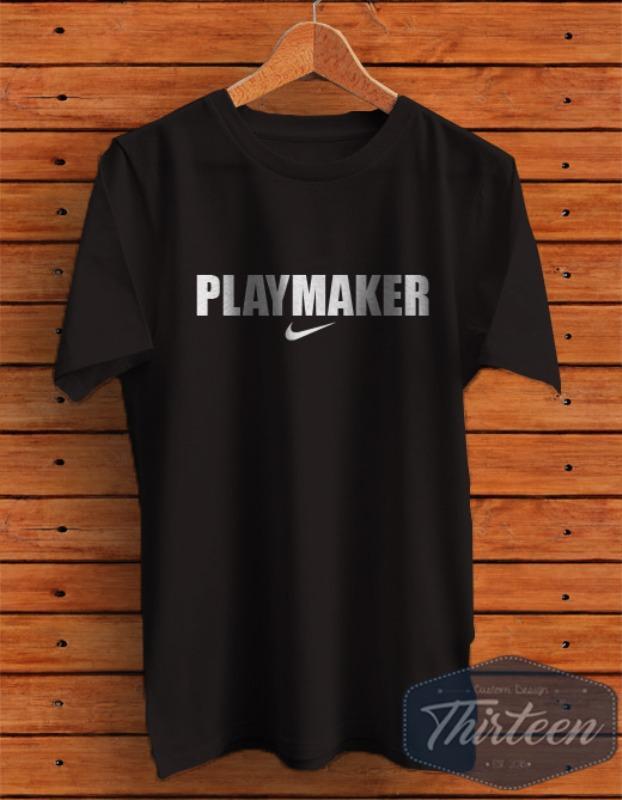 Kaos Original Baju Bola Futsal Playmaker Nike Kualitas Distro - Hitam