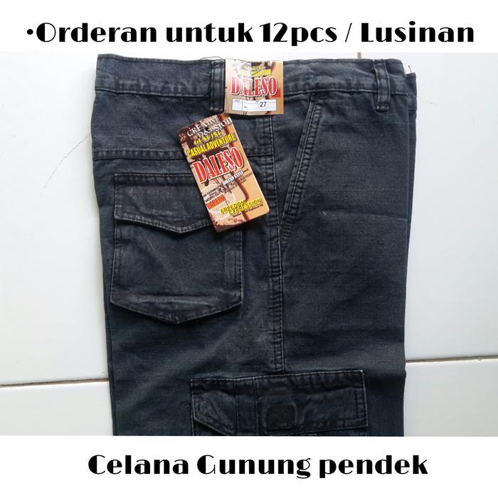 Diskon 10%!! Celana Cargo Pendek Lusinan . Harga Grosiran . Murah - ready stock
