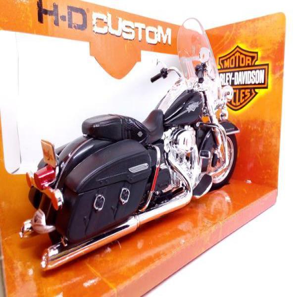 Miniatur Diecast Motor Moge Klasik Harley Davidson ROAD KING CLASSIC