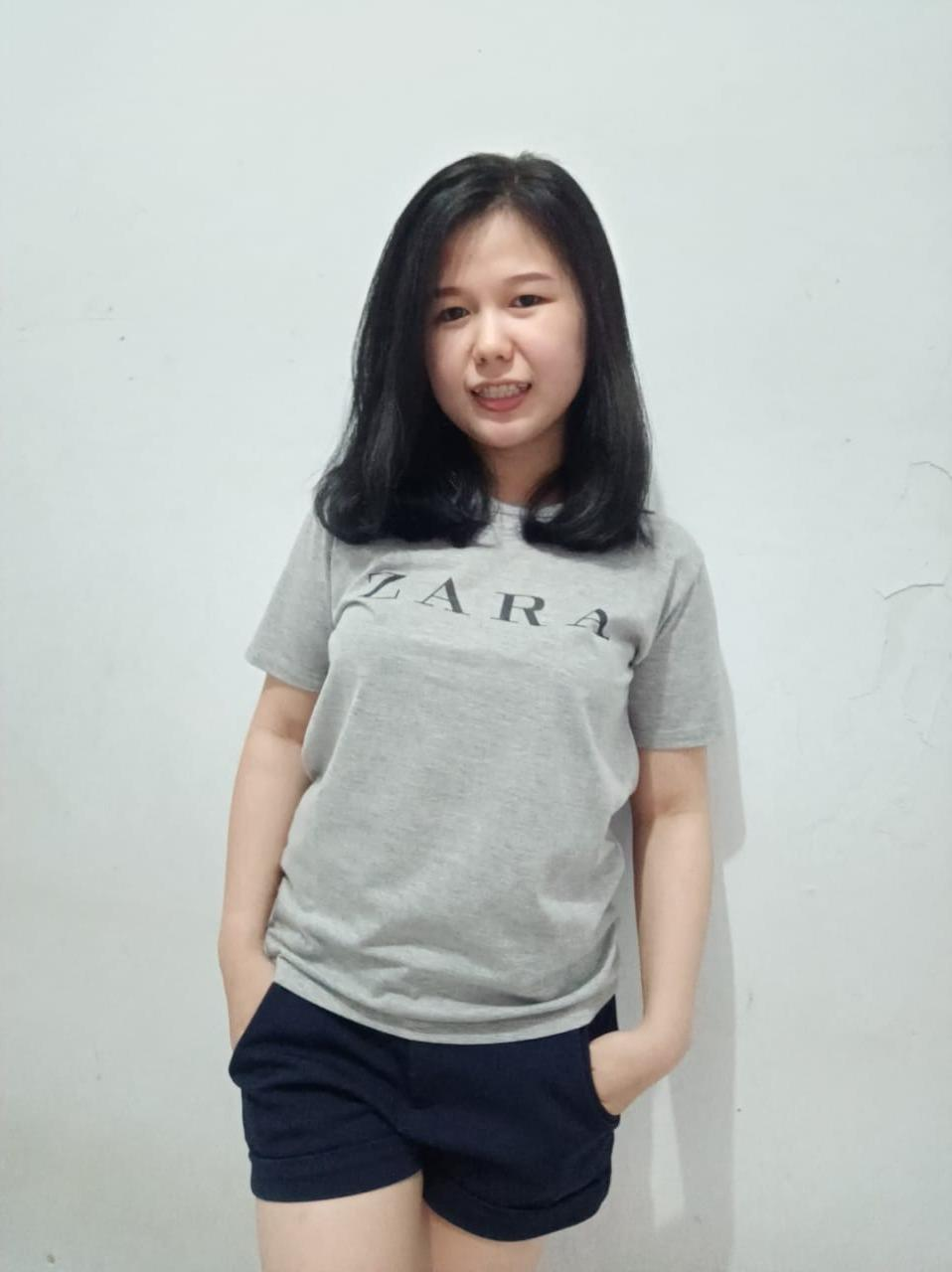 HANAMI KAOS ZARA  ALL FIT TO L