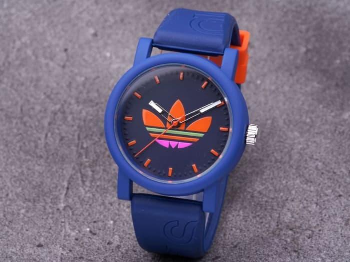 Jam Tangan Pria / Wanita Murah Adidas Clasico Rubber Dark Blue| AMO Store