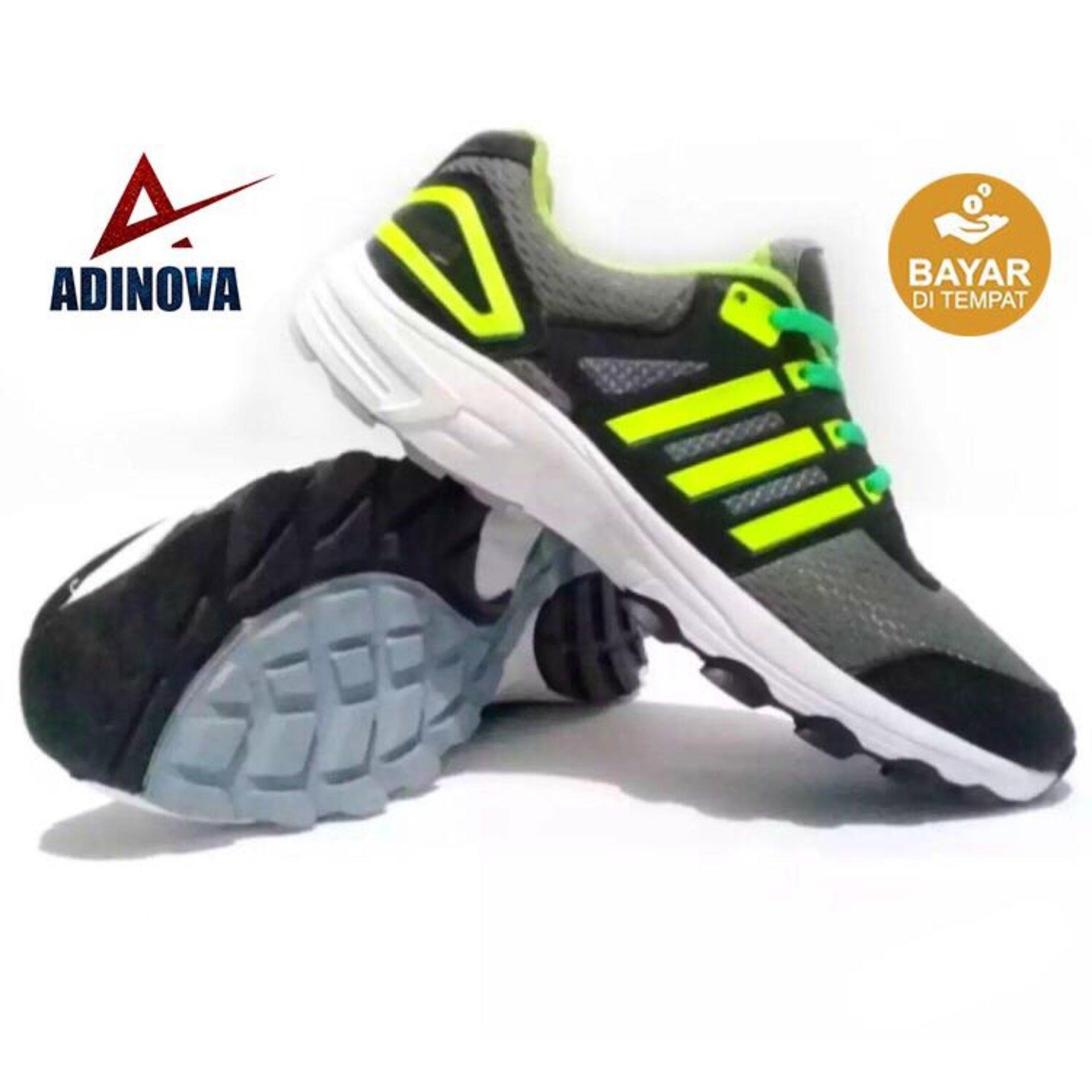 Adinova Shoes Sepatu Sport Pria Sepatu Sneaker Pria   Sepatu Olahraga Sepatu  Lari  89d7edca85