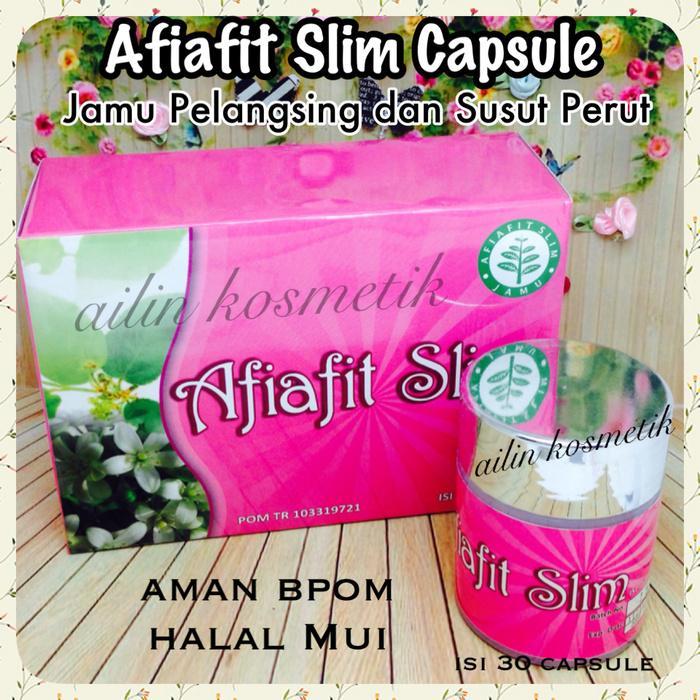 Afiafit Slim Original Bpom Jamu Susut Perut Dan Pelangsing