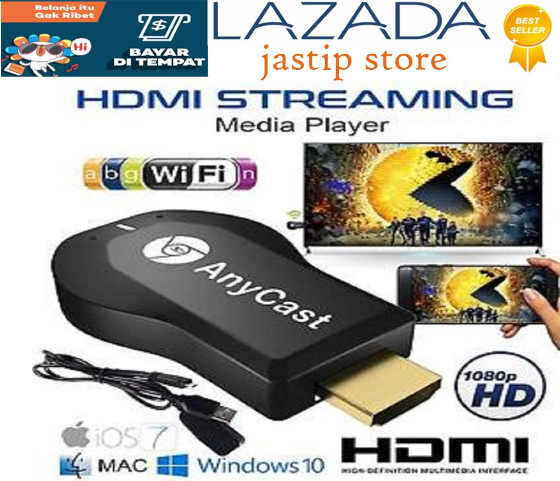 Anycast Dongle Wifi HDMI Display Receiver - HDMI Dongle - AnyCast Wireless DLNA Airplay Dongle TV Stick Push Chrome cast Wifi Display Receiver PC Android Media Player for Ipad Android