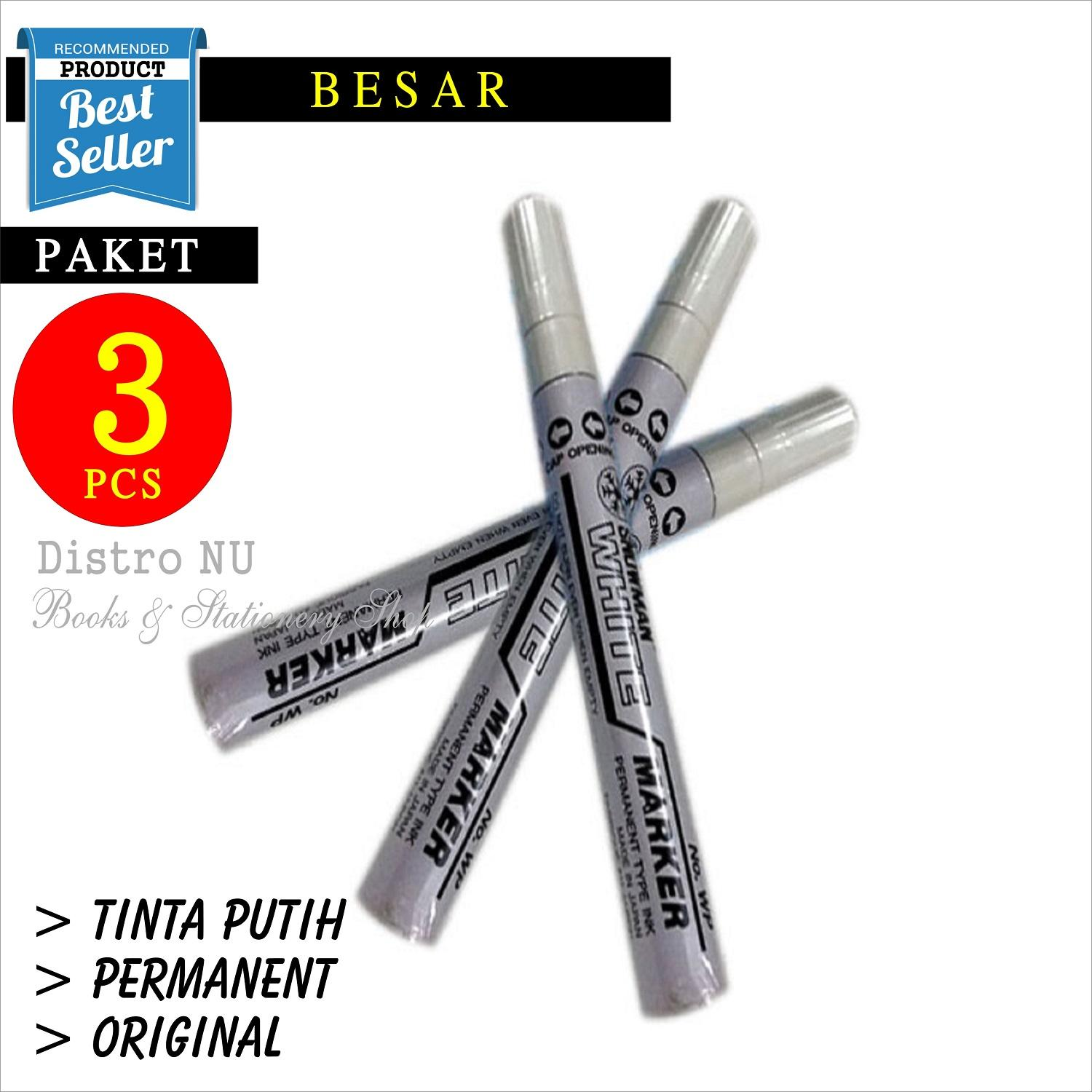 Buy Sell Cheapest Putih Pensil Kayu Best Quality Product Deals Penghapus Pelangi 3 Pcs Spidol Snowman