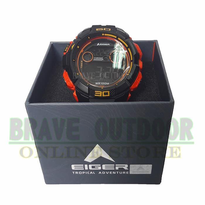 Jam Tangan Eiger N82820 Adventure Watch + Tali & Battre Cadangan