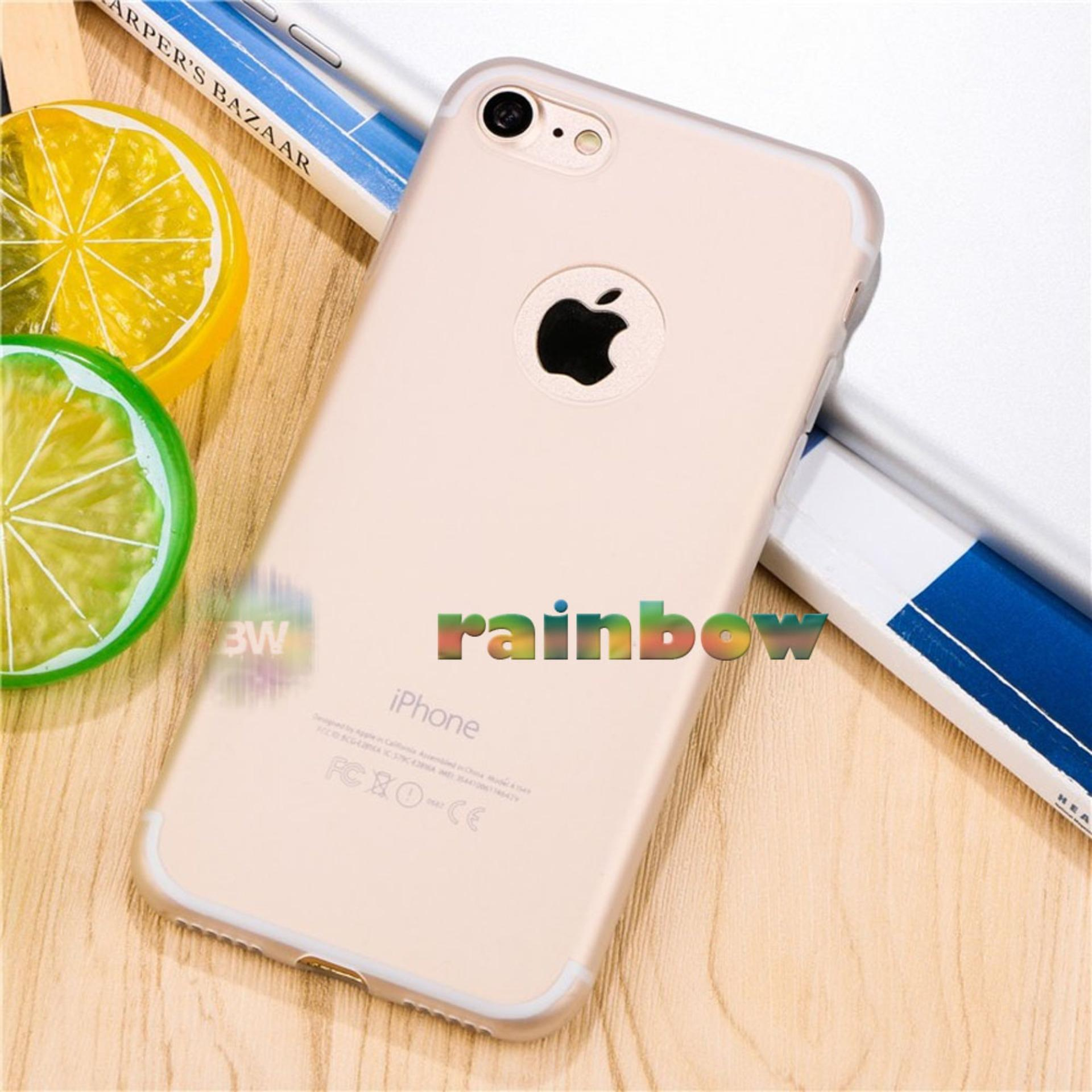 Lize Apple Iphone5 / Iphone 5 / Iphone 5G / Iphone 5S Ori / Softshell / Jelly Case / Soft Case / Soft Back Case / Silicone / Silicon / Silikon / Case Iphone / Case HP / Casing Handphone Iphone 5 - Transparan