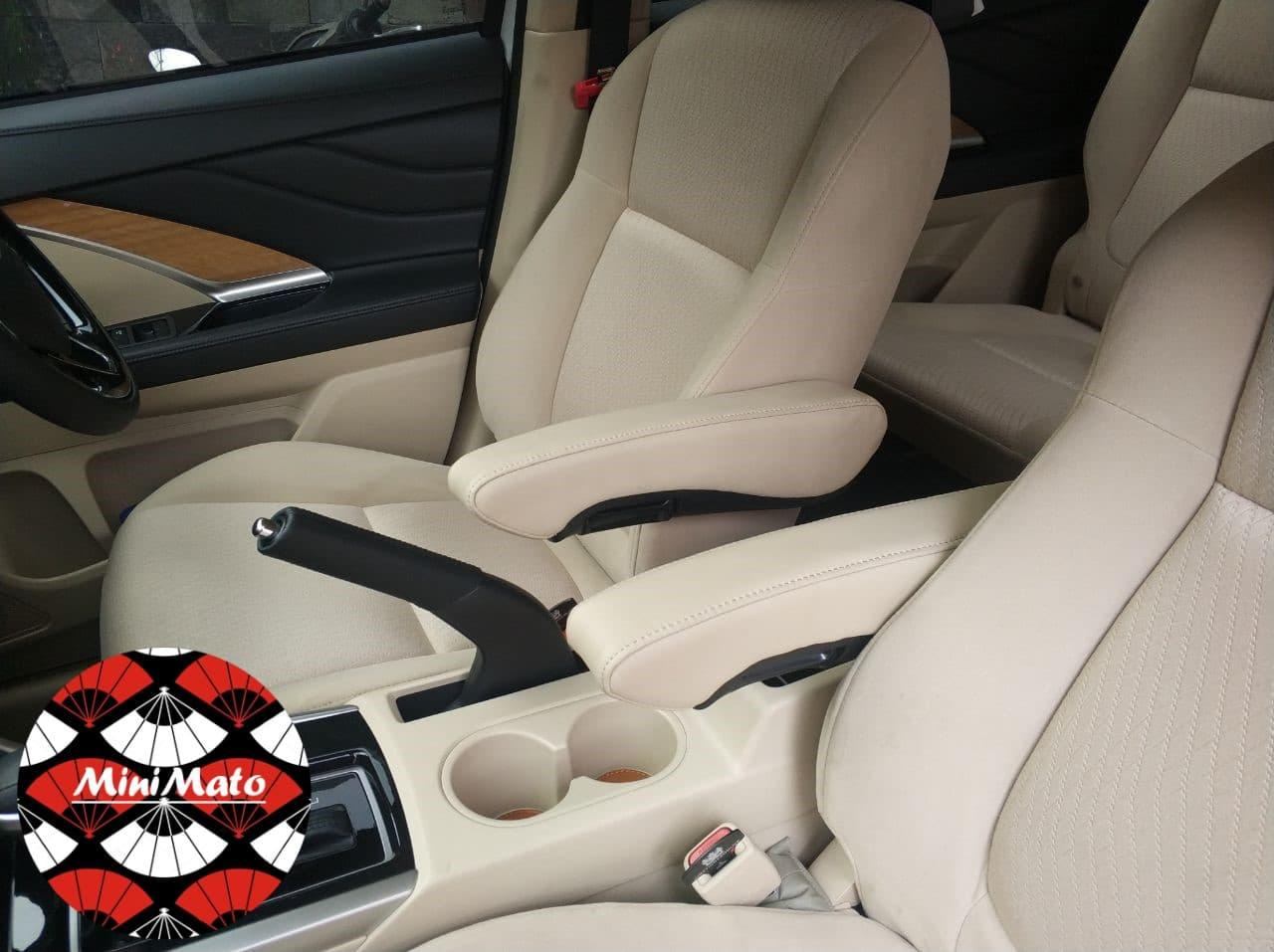 Aksesoris Interior Mobil ArmRest Jok Mobil Custom Kulit Xpander Mobilio Ertiga BRV