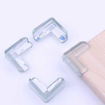 Rimas Silicone Bumper Pengaman Siku Sudut Meja 10 PCS - Transparent FREE Ongkir & Bisa COD