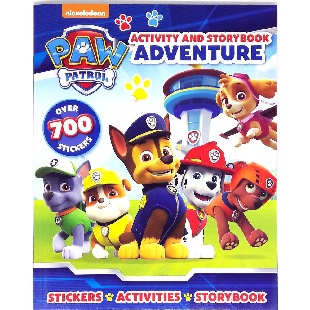 Buku Anak Genius Nickelodeon Paw Patrol : Activity And Storybook Adventure With Over 700 Stickers By Genius Baby Book.