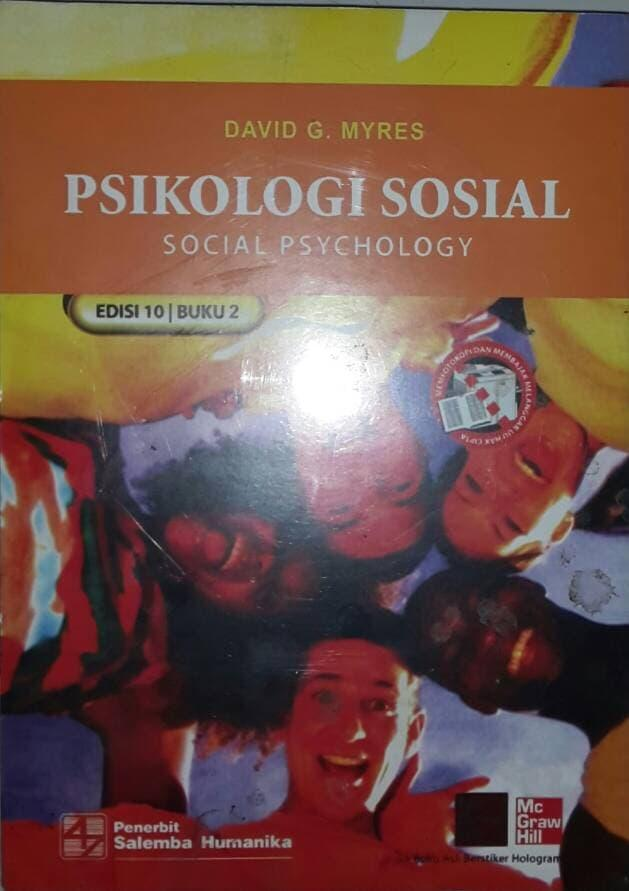Rp 99.000. Best Seller!! Psikologi Sosial Ed 10 Jld 2 Kar. David G. Myres - ready stockIDR99000