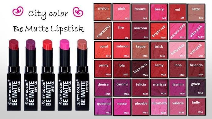 Ledisia - City Color Be Matte Lipstick   Original