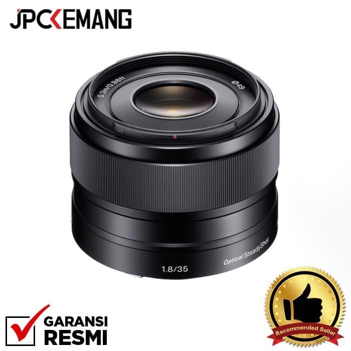 Sony E 35mm F/1.8 Oss Prime Lens Jpckemang Garansi Resmi By Jpc Kemang.