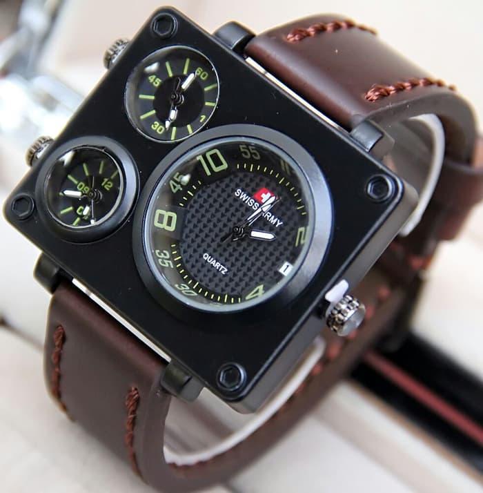 Rolex Jam Tangan Wanita Analog Crystal - Watch Analog Rolex 3 - jam tangan pria - jam tangan analog pria - jam tangan sport - jam tangan sport pria
