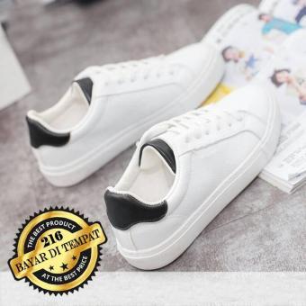 Pencarian Termurah Kets Sneaker HB 216   Sepatu Wanita Pria Putih   Sepatu  Santai   4a27bd8031
