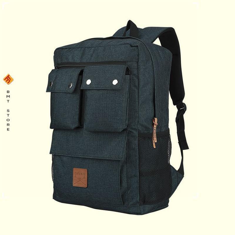 Tas Backpack Pria Catenzo MB 020-314 Biru Dongker