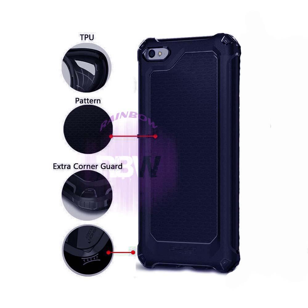Rainbow Soft Case Oppo A57 Ultra Rugged Armor Extra Capsule Slim Spider Interior Anti Slip Anti