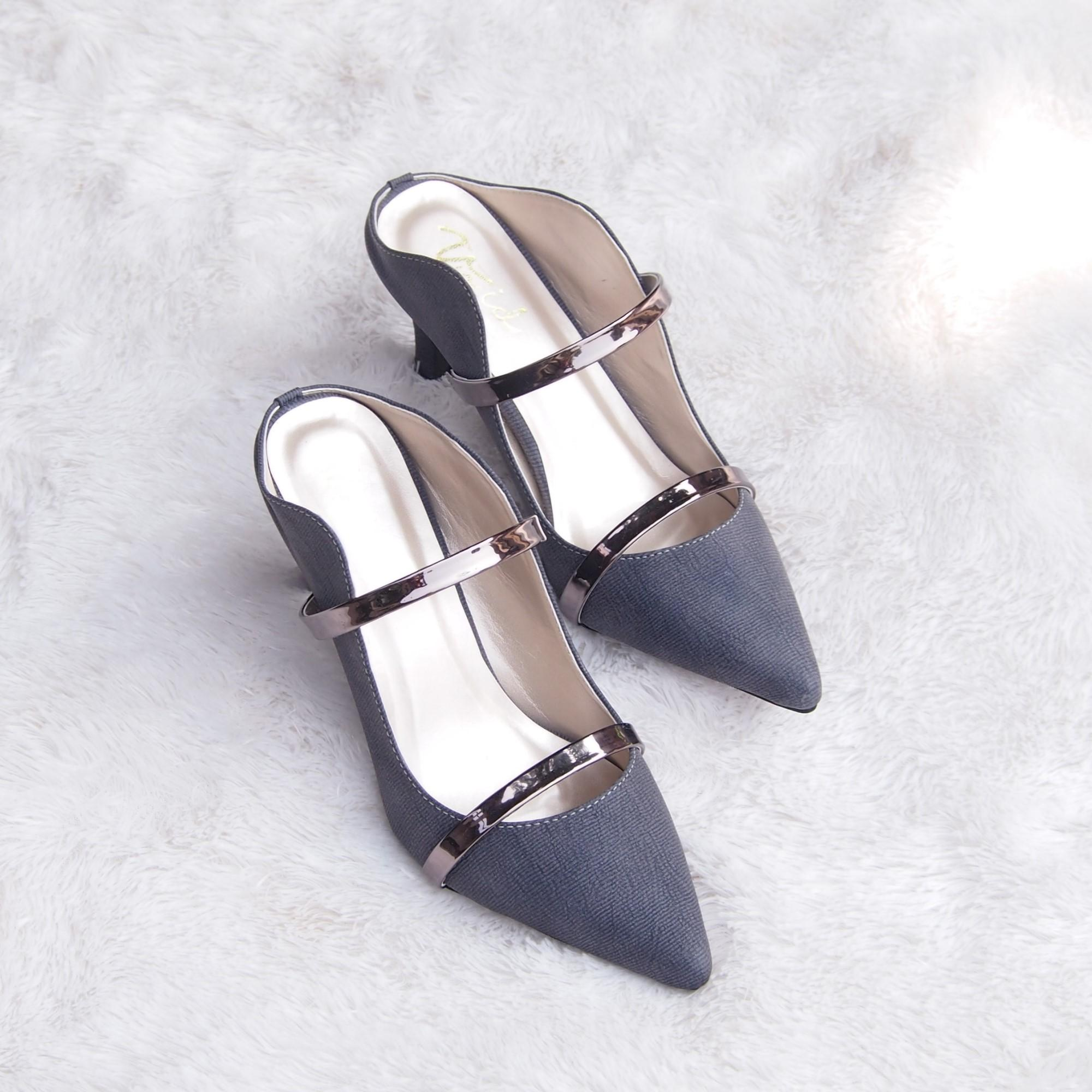 Pumps Shoes - Sepatu Hak Tinggi Kualitas Premium ASY01