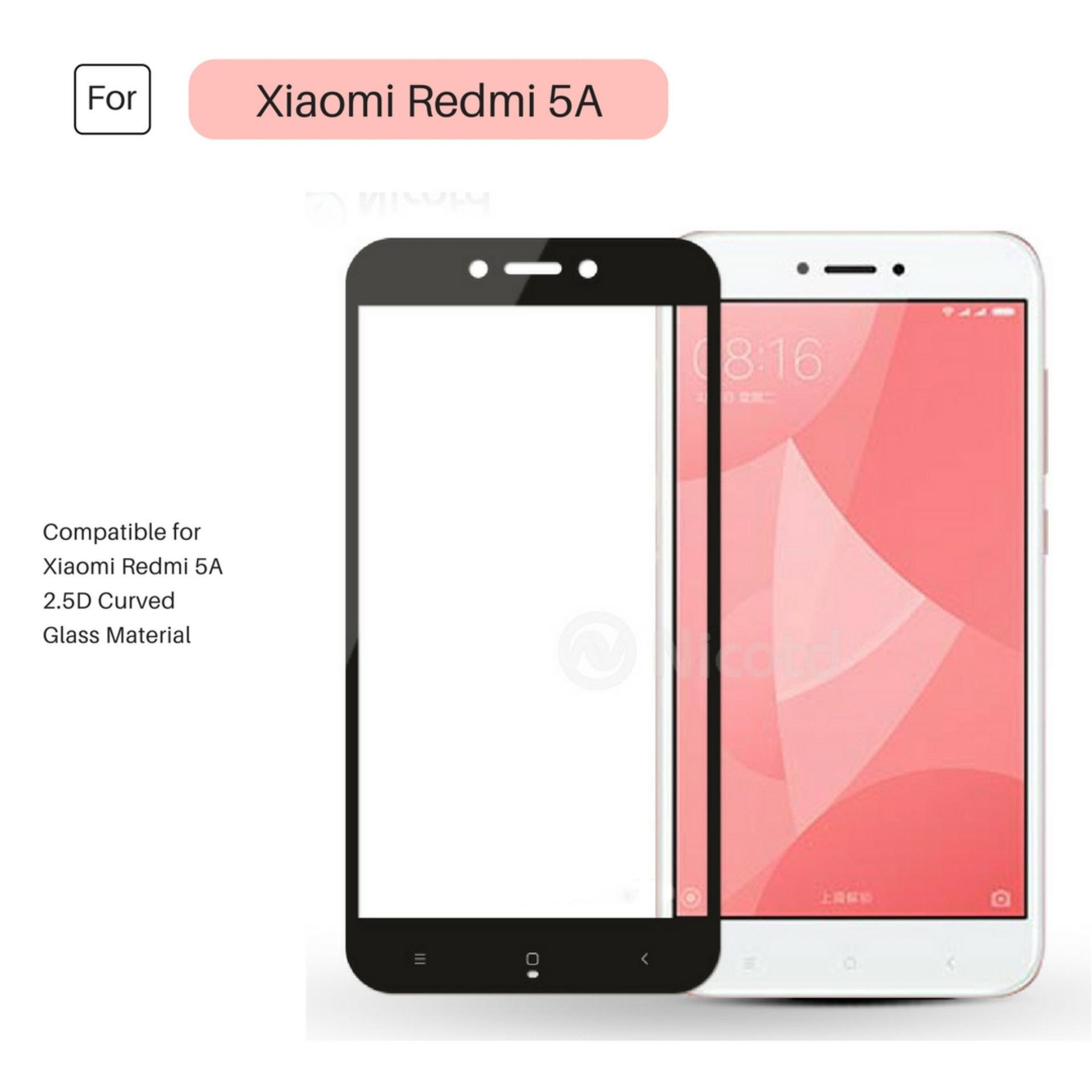 ... Kaca Anti Gores - Bening. Source · Tempered Glass Warna Full Corning Screen Protector For Xiaomi Redmi 5A - Hitam