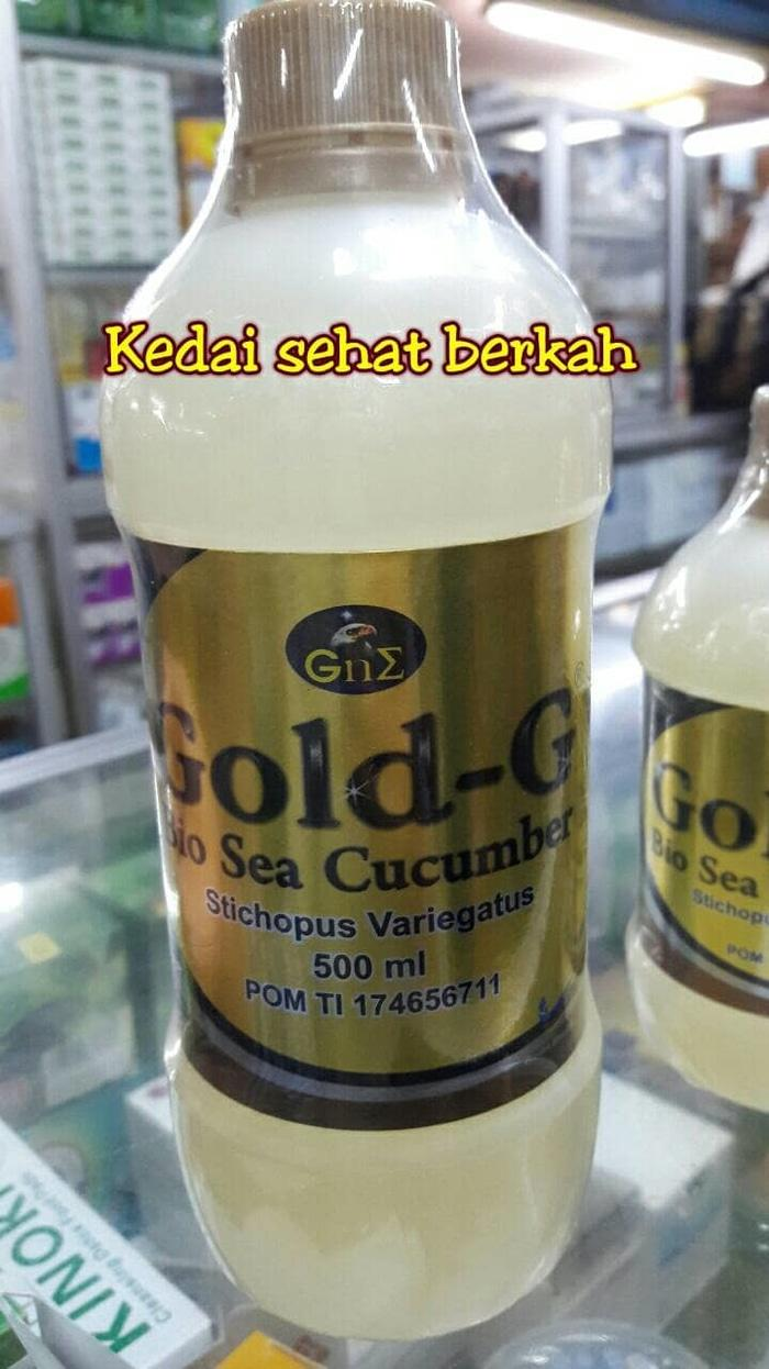 Buy Sell Cheapest Best Gold Gamat Quality Product Deals Jelly G 500 Gu002fbio Sea Cucumber 500ml