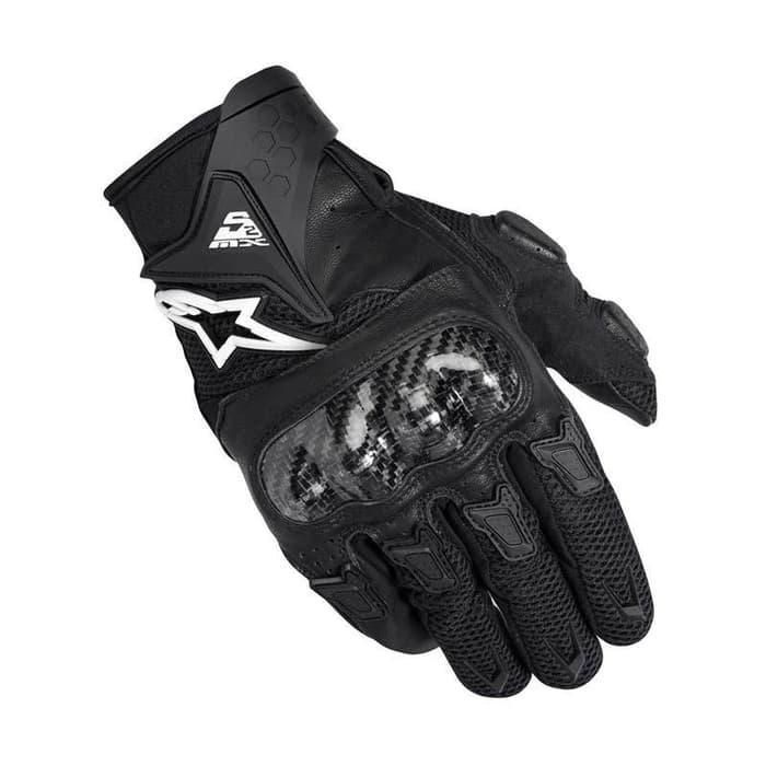TERLARIS !! sarung tangan alpinestar hitam glove smx gloves black